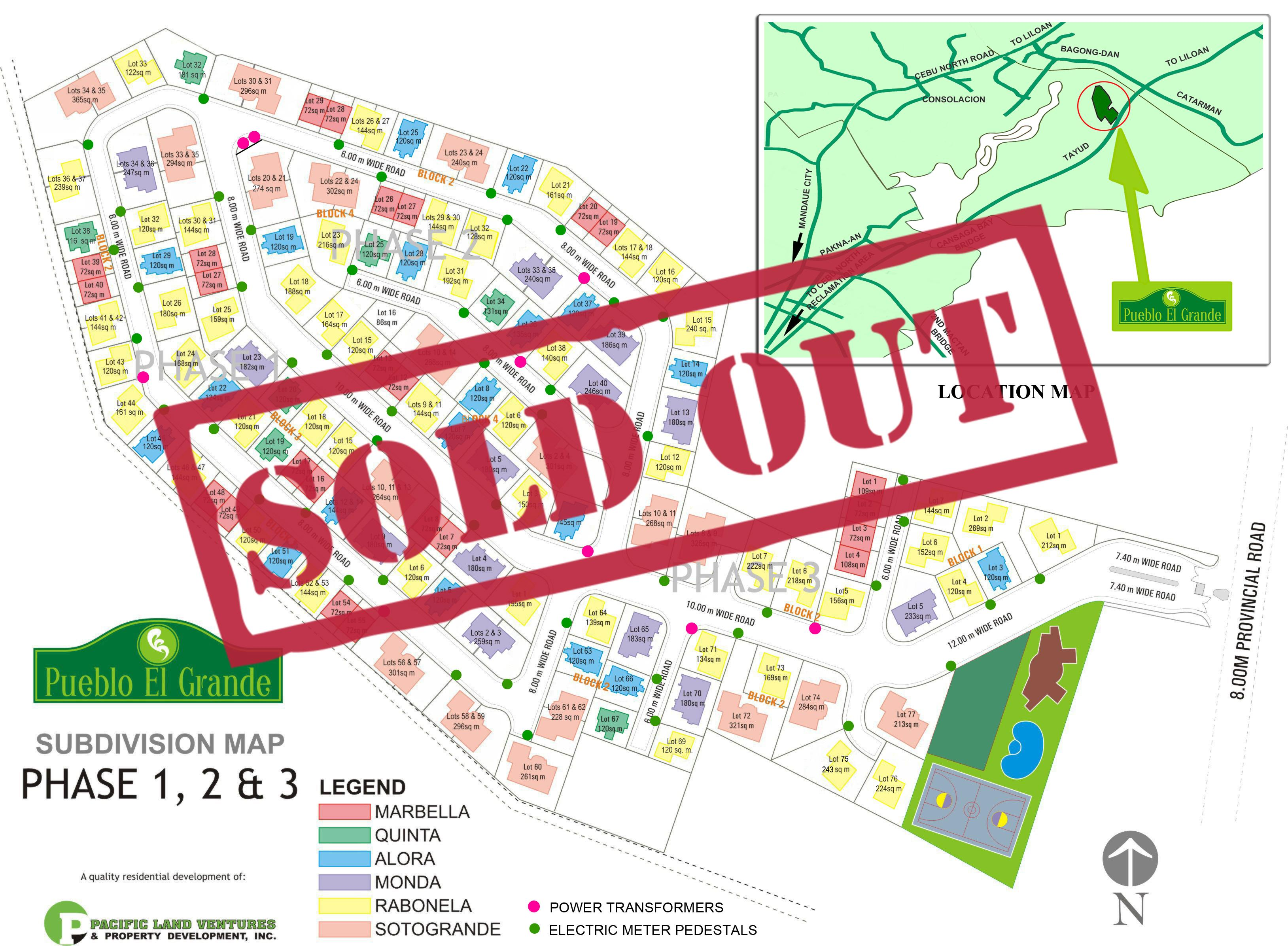 PEG Map sold out